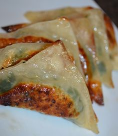 Homemade Potstickers...i need to try this