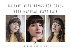 Searching for bangs curly hairstyles? Check hairstyles with bangs for natural curly hair. Choose the one that will fit you and create a superb look! Curly Hair With Bangs, Curly Hair Cuts, Natural Wavy Hair, Short Curly Hair, Perfect Image, Perfect Photo, Love Photos, Cool Pictures, Layers And Bangs