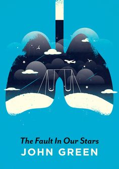 TFIOS Art Print by Risa Rodil, via Society 6 #FaultinOurStars #JohnGreen #books