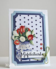 Cards made by Wybrich: Marianne Design challenge 247 Marianne Design, Windmill, 3 D, Card Making, Challenges, Holland, Frame, Cards, Blog