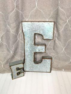 Large Metal Letter R Metal Lettersletter Rlarge Metal Letter Rgalvanized Letter