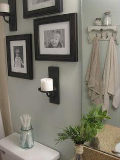 frames above toilet