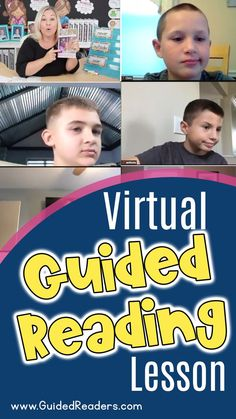Remote Guided Reading Lesson: If you are teaching virtually and would like some inspiration, check out my new video where I teach a Virtual Guided Reading Lesson to a small reading group. I hope that you can find some nuggets of inspiration to bring into your remote instruction. Don't forget to comment below the video