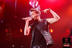 Prince Royce onstage at the 2014 iHeartRadio Fiesta Latina at The Forum in Inglewood, California on Saturday, November 22nd, 2014. (Photo: Joseph Llanes for iHeartRadio)