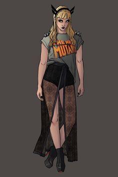 X-Women Marvel Fashion Serie Illyana Rasputin aka... -