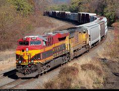 RailPictures.Net Photo: KCS 4829 Kansas City Southern Railway GE ES44AC at Enola, Pennsylvania