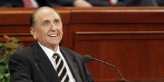 Here are a few uplifting messages from our prophet, Thomas S. Monson, that can inspire us to trust in the Lord, no matter who wins the election.