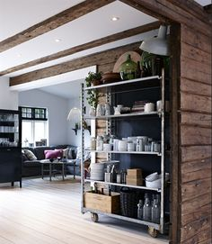 industrial storing at home