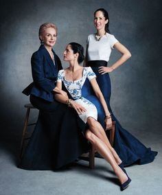 Carolina Herrera's daughters Carolina Herrera de Báez and Patricia Herrera Lansing on growing up with a mega-designer mother CAROLINA JR.: I never thought of my mother as a big fashion designer. For me, she was just my mother. Now that I'm older and I'm a mother, I can look back and realize it. PATRICIA: I remember very small snippets in Venezuela, before we moved to New York, where I remember her closet. Her closet was so much fun! I remember she had lots of jewelry to go in and play with…
