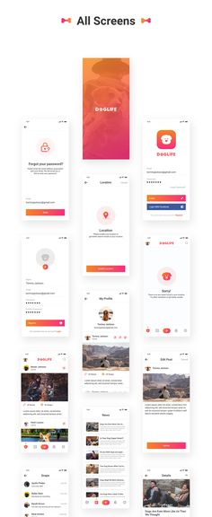 Doglife UI Kit Free for Adobe XD – uistore.design Doglife UI Kit Free for Adobe XD – uistore. Ui Design Mobile, App Ui Design, Interface Design, Android App Design, Android Ui, Layout, Adobe Xd, Adobe Photoshop, App Design Inspiration