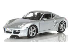 Diecast Auto World - Maisto 1/18 Scale Porsche Cayman S Silver Diecast Car Model 31122, $27.99 (http://stores.diecastautoworld.com/products/maisto-1-18-scale-porsche-cayman-s-silver-diecast-car-model-31122.html/)