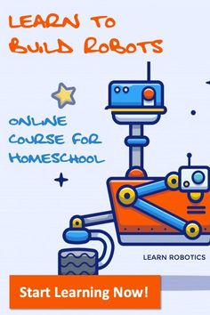 Take a Course - Learn Robotics Stem Projects For Kids, Science Projects, Robot Programming, Learn Robotics, Technology Careers, Mobile Robot, Mechanical Engineering Design, Engineering Courses, Teacher Association