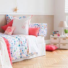 マリン刺繍パーケルシーツ&カバー - ベッドシーツ&カバー - ベッドルーム | Zara Home 日本