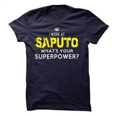I work at Saputo - MasellTamiko !!! - #cheap hoodie #animal hoodie. I WANT THIS => https://www.sunfrog.com/Funny/I-work-at-Saputo--MasellTamiko-.html?68278