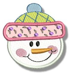 Embroidery | Free Machine Embroidery Designs | Bunnycup Embroidery | Snowman Soup Applique