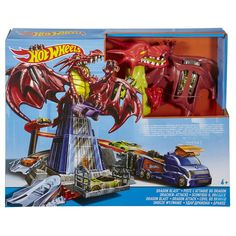 Hot Wheels 900 Dragon Blast Playset for sale online