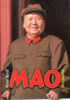 """""""Mao. Biografia"""" (Mao. A Biography) Ross Terrill  Translated by Jan Maciej Głogoczowski Cover by Krystyna Töpfer Published by Wydawnictwo Iskry 2001"""