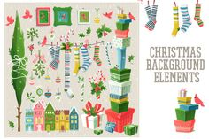 Check out Christmas designer toolkit 2 by Code Shop on Creative Market