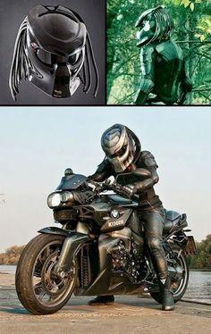 Predator Helmet - now to get a motorcycle!!