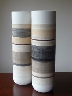 Elizabeth Fonseca & Gilberto Paim, ceramics, pottery, vases