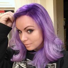 puppy hair selfie! #purplehairdontcare #purplehairselfie #purpleombre #purpledipdye #lavenderhair #lavender #hairstyles #overtone #violethair #mermaidhair #pastelhair #overtone