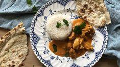 Butter chicken eli intialainen voikana on taivaallinen ruoka broilerista. Copyright: MTV. Kuva: Petra Tuominen. Butter Chicken, Garam Masala, Naan, Petra, Mtv, Mashed Potatoes, Curry, Ethnic Recipes, Food