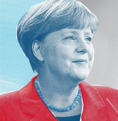 Angela Merkel, illustration for Aspen Review magazine