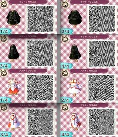 animal crossing new leaf qr codes - sword art online kirito and asuna