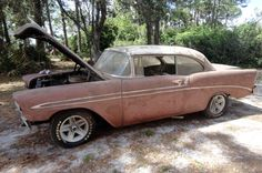 Pair Of '56s Chevy Bel Airs - http://barnfinds.com/pair-of-56s-chevy-bel-airs/