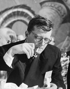 Eyewear of Russian Composer Dmitri Shostakovich