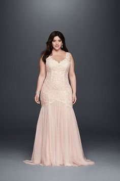 plus size wedding dress inspiration - cap sleeve plus size wedding