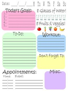 Useful planners organize-it