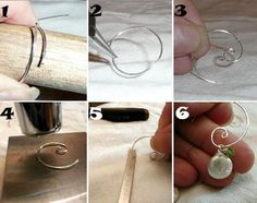 Step by step to make these beautiful spiraling tendrils.