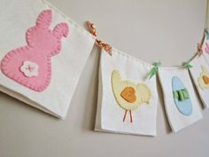 A Little Happy Place: A little happy Easter Bunting