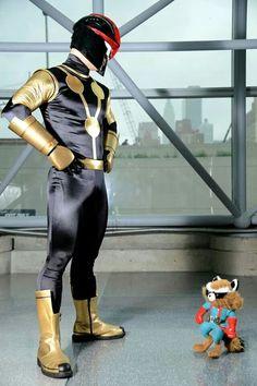 Nova and Rocket Raccoon ?