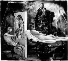 Peter Witkin. Poussin in hell