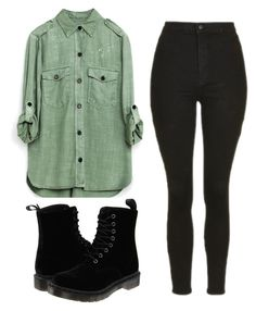 """""""🇬🇪"""" by mariami-princess2013 ❤ liked on Polyvore featuring Topshop and Dr. Martens"""