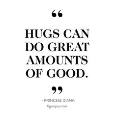One of our favorite Princess Diana quotes. Amazing Quotes, Great Quotes, Love Quotes, Inspirational Quotes, Hug Quotes, Words Quotes, Sayings, Princess Diana Quotes, General Quotes