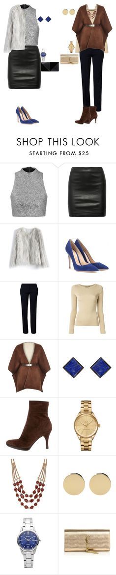 """""""Classic and Sexy"""" by arimacias on Polyvore featuring moda, Topshop, The Row, Chicwish, Gianvito Rossi, Benetton, Dolce&Gabbana, River Island, ADORNIA y Sergio Rossi"""