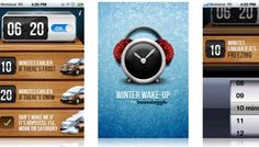 This is really clever - weather contextualised alarm clock app.