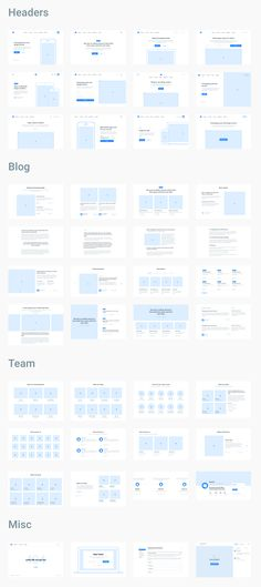Layouts sorted into popular web categories that are ready to be used as working materials for kick-starting a new project in seconds. Flat Web Design, Minimal Web Design, Web Design Trends, Design Websites, Web Design Grid, Layout Design, Web Design Mobile, Wireframe Design, Design Food