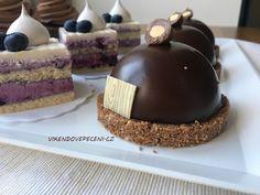Čokoládové polokoule se sušenkovým pukem Cheesecake, Pizza, Vip, Advent, Blog, Cheesecakes, Blogging, Cherry Cheesecake Shooters