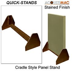 Acoustimac Quick-Stand Acoustic Panel Cradle-Style Stands