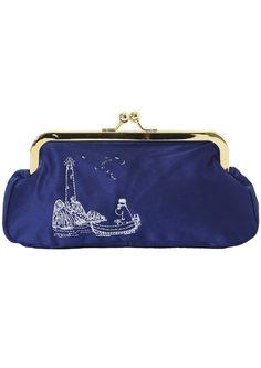 Ivana Helsinki - Moomin purse Ysl Handbags, Louis Vuitton Handbags, Designer Handbags, Large Bags, Small Bags, Tove Jansson, Bag Making, Coin Purse, Wallet