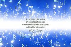 Muziek - Troostgedachten #149