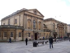 Bath and Pump Room- Bath, Uk