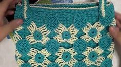 How to Crochet Bag: Fresh parquet Bag