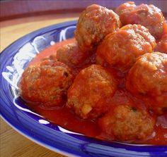 Calabria meatballs
