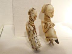 File:WLA brooklynmuseum Luba Pendant Hippopotamus tooth 3.jpg Dents d' hippopotame