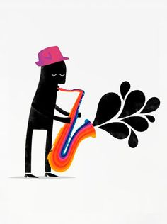Cool saxophone!